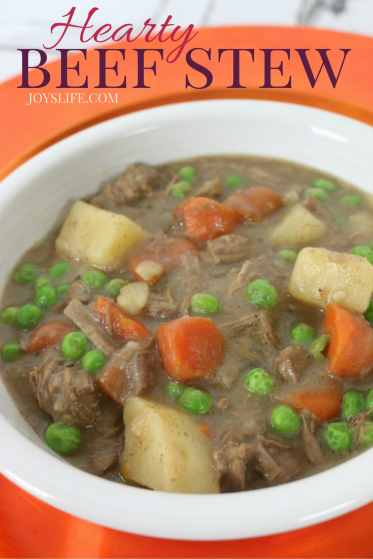Hearty Beef Stew #KnifeSkills ad #IC