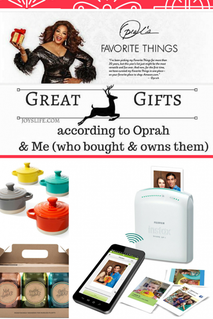 Oprah's Favorite Things List 2015 + My Thoughts About the List Items I Own!