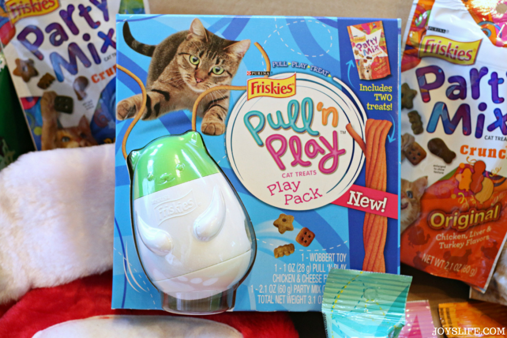 Friskies Pull 'n Play Combo Pack Giveaway #Friskies #ad #giveaway #cats