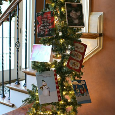 How to Make a Tomato Cage Christmas Tree Card Holder