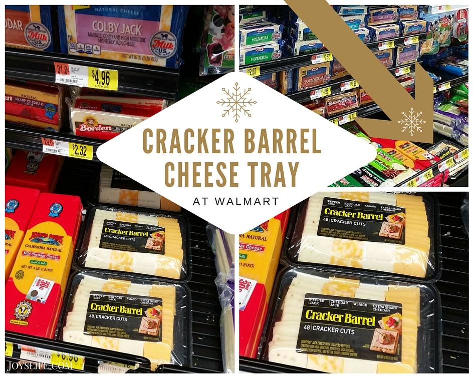 Cracker Barrel Cheese Tray