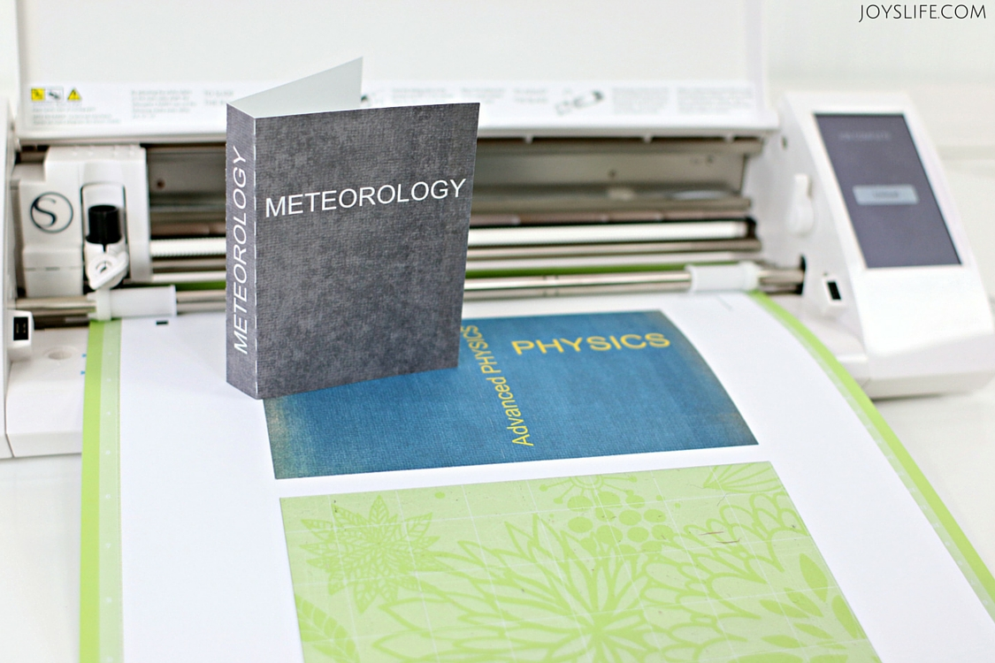 Learn to Make Book Covers with Extra® Gum - Free Cut File