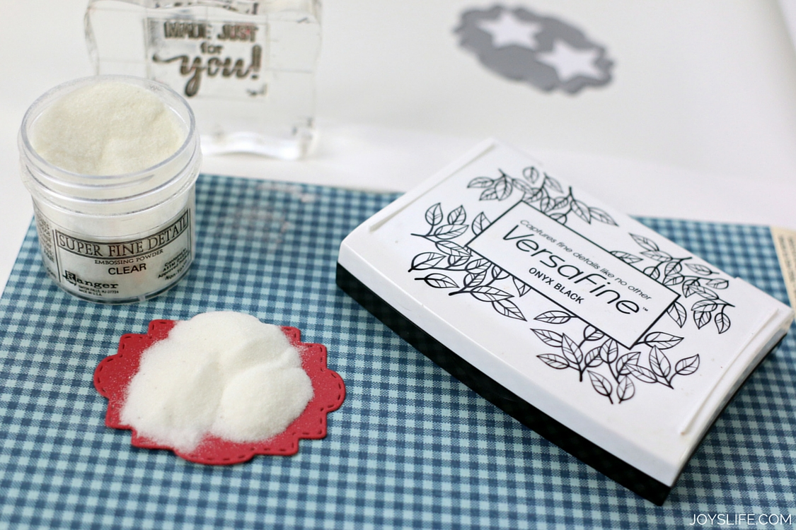 Embossing Stamped Image