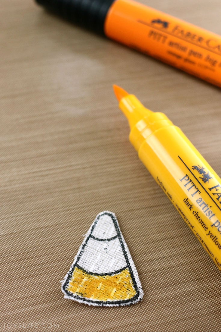 color candy corn faber castell marker