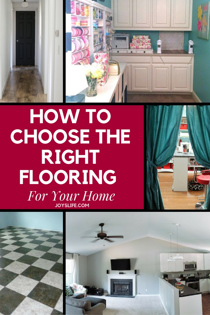 how to choose the right flooring for your home joy 39 s life