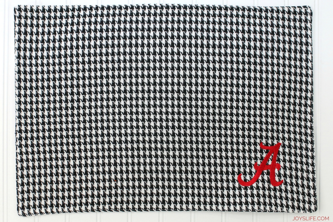 roll tide placemat