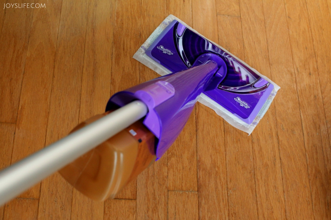 swiffer wood floor