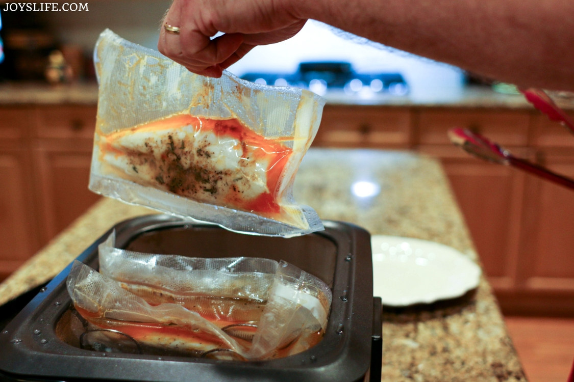 rosemary chicken cooked sous vide style
