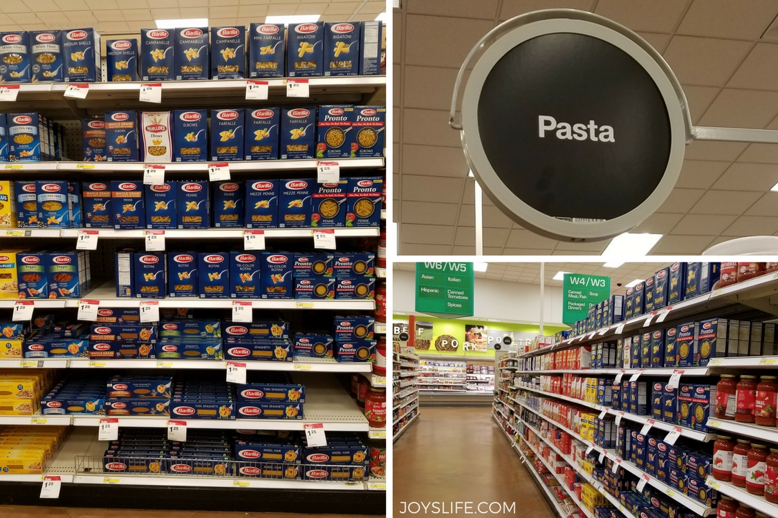 barilla in target