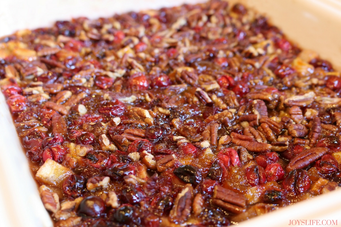 cranberry dish cooked