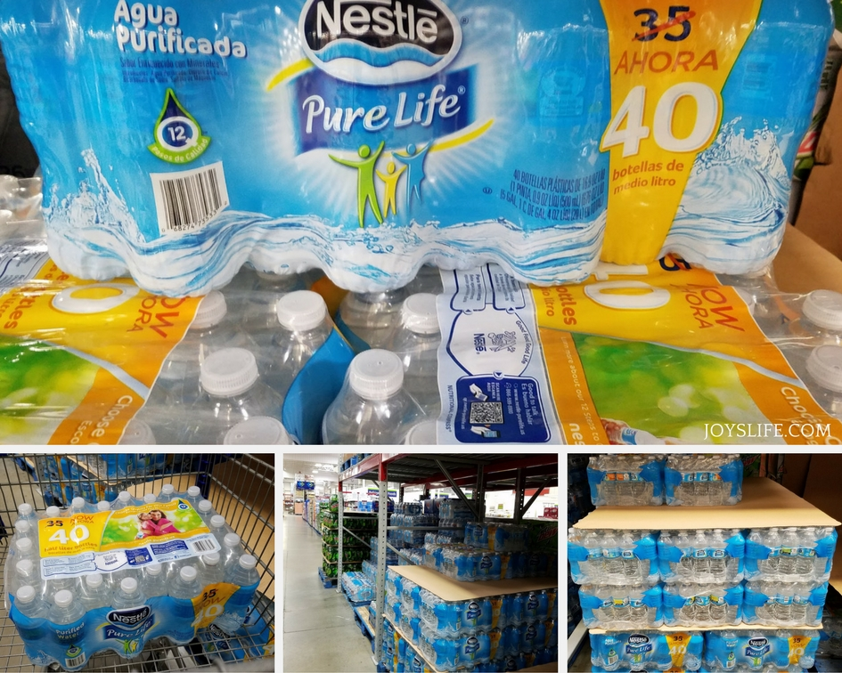 Nestle Pure Life Water Sam's Club