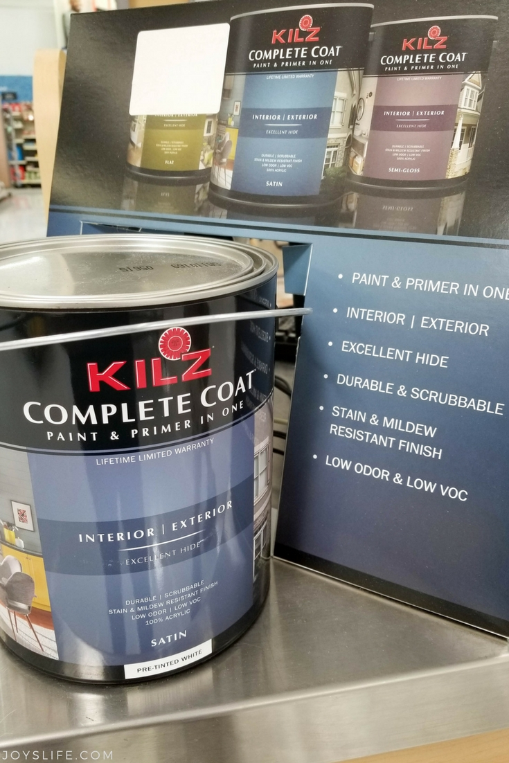 KILZ Complete Coat Display