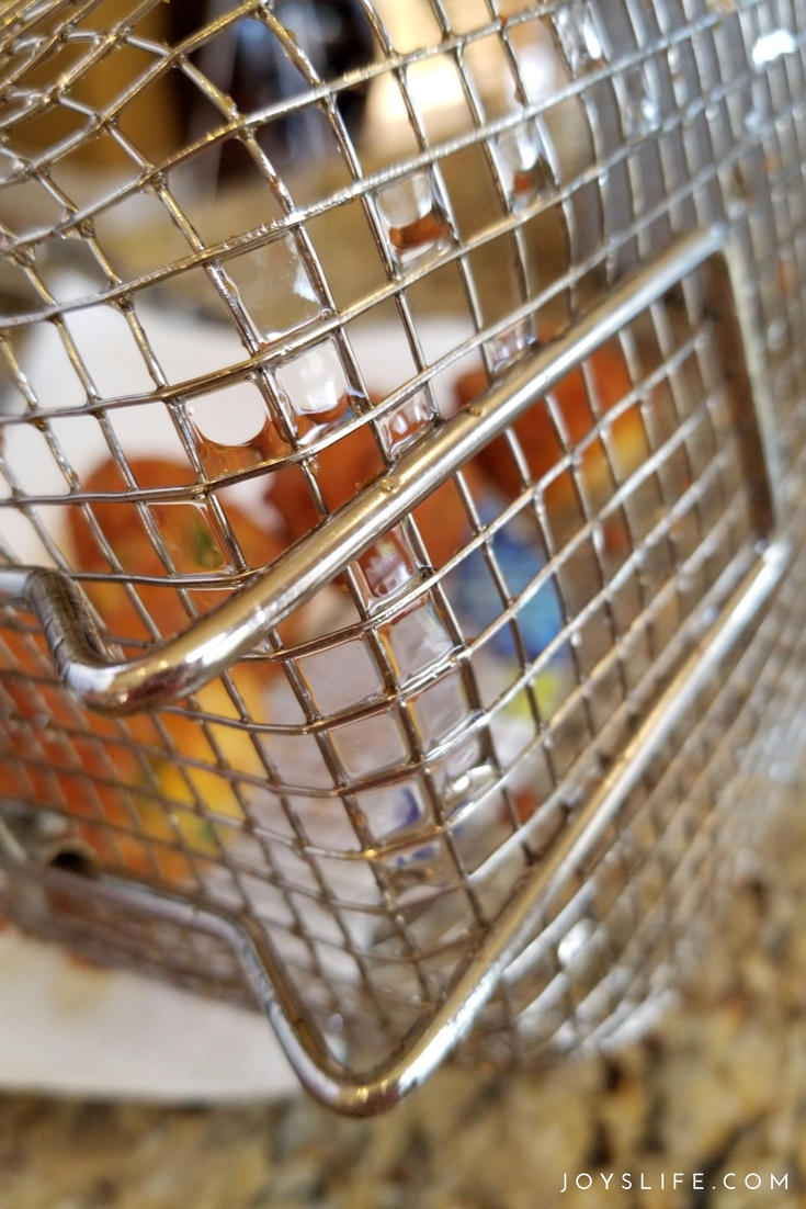 peanut oil fry basket