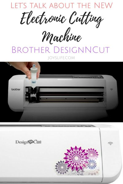 New Electronic Cutting Machine the Brother DesignNCut 2017