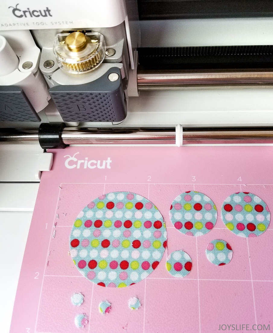 cricut maker circles all sizes