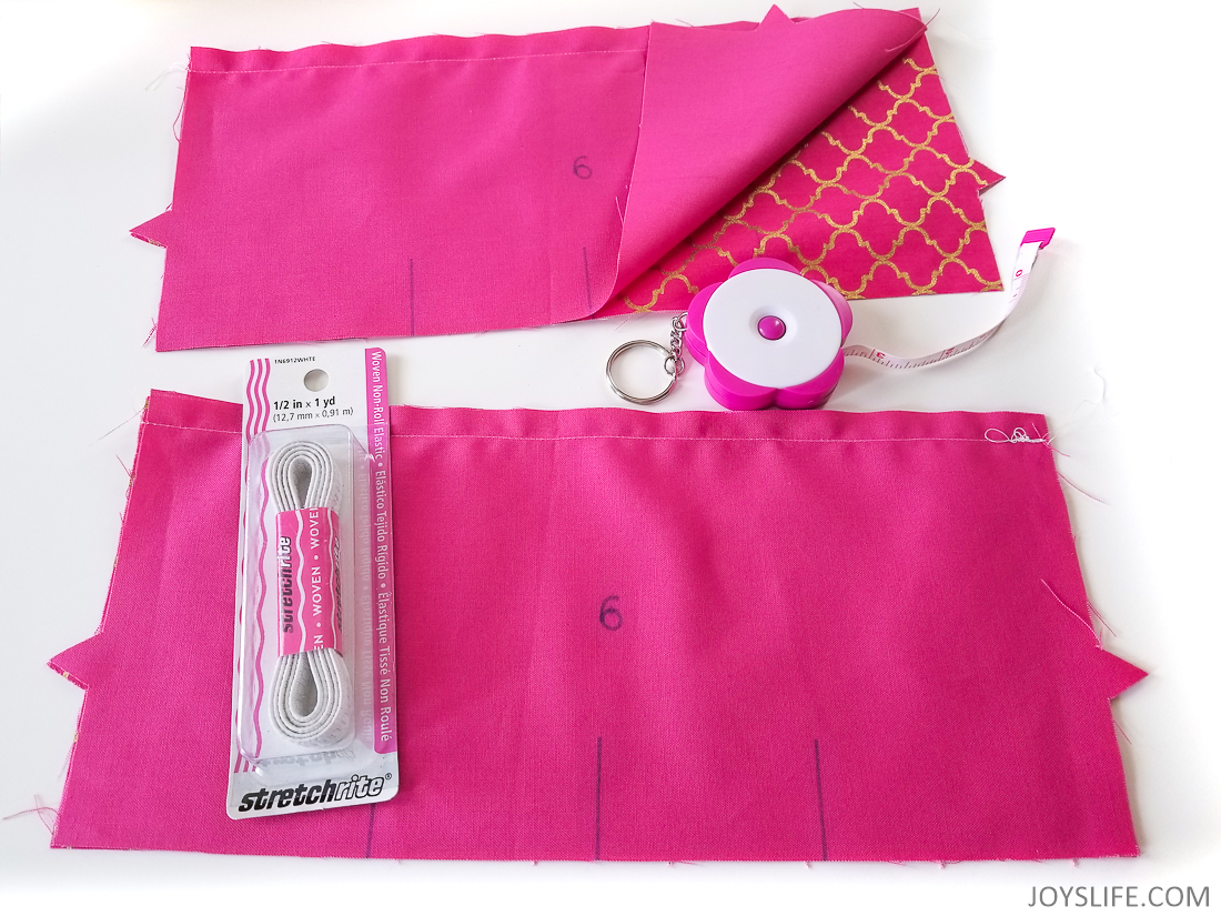 Elastic pink dust cover