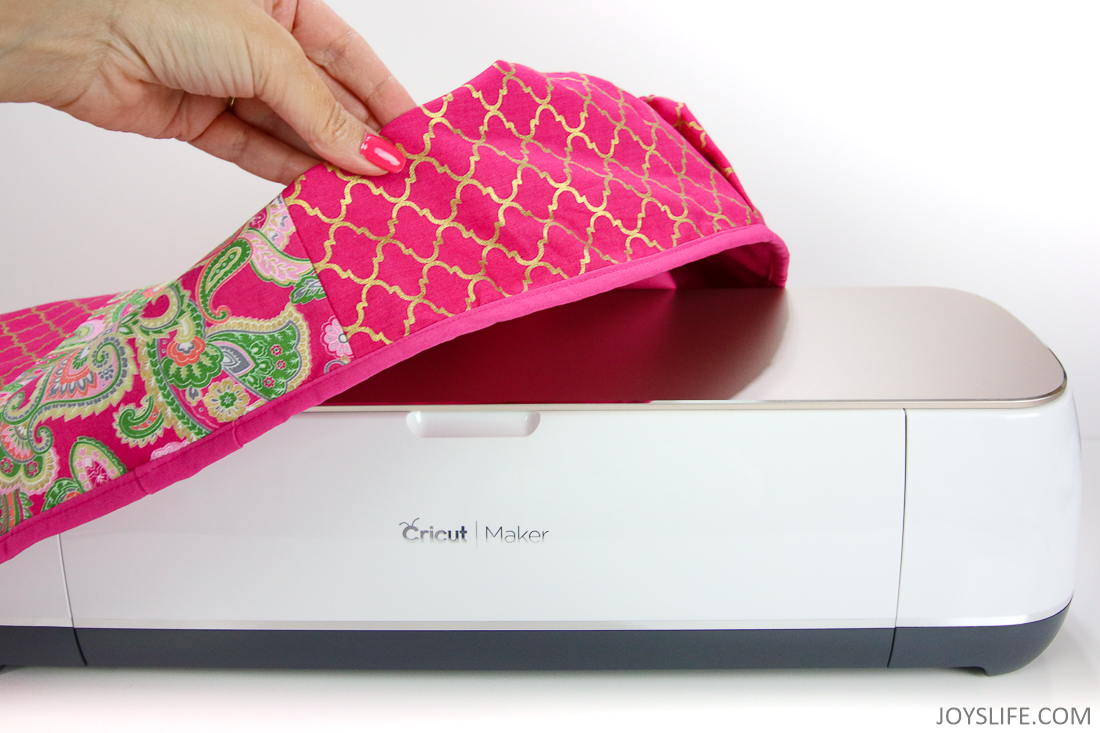 removing cricut maker dust ruffle