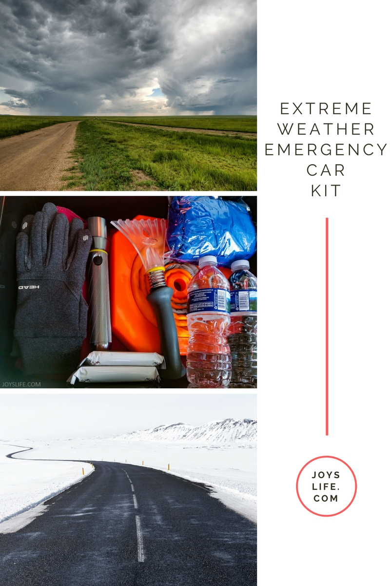 Extreme Weather Emergency car kit