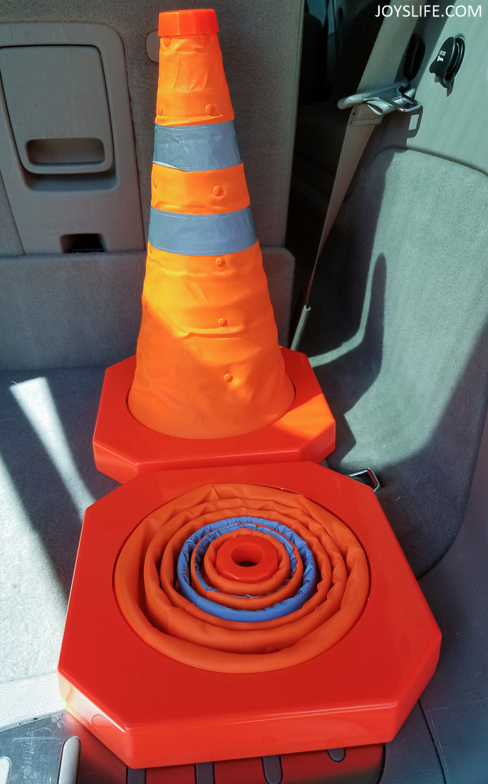 popup safety cone