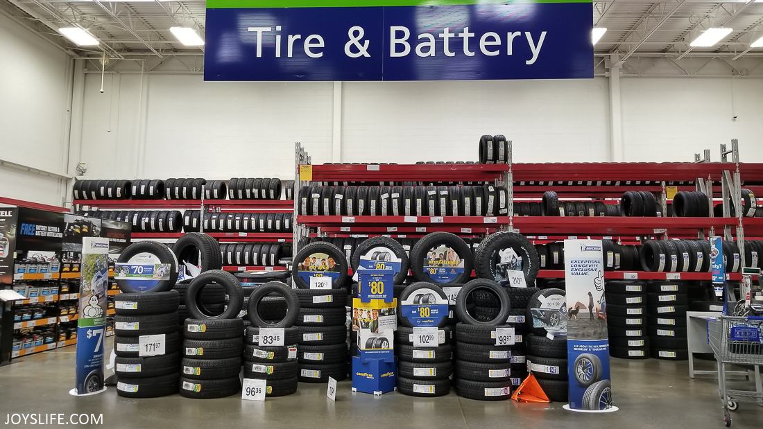 Goodyear Assurance WeatherReady Tires at Sam's Club