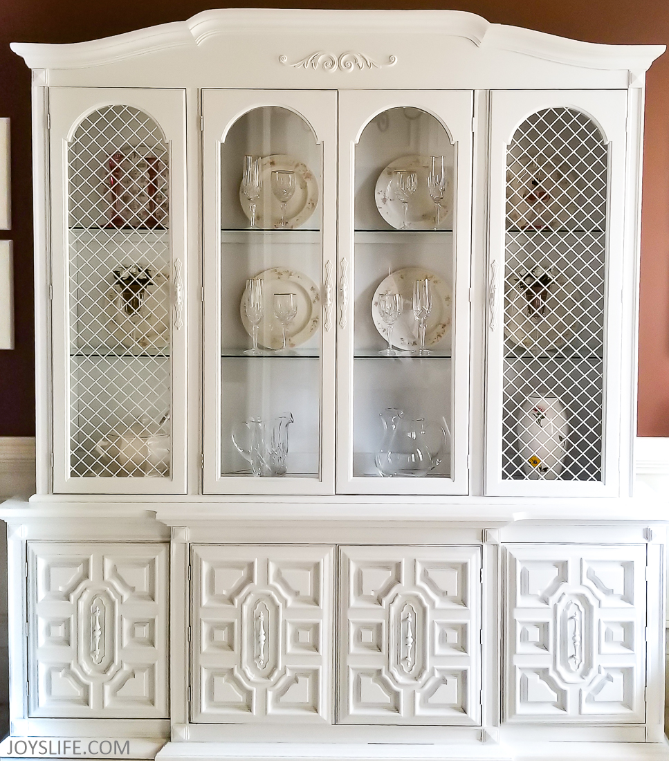 China Cabinet Makeover After Close