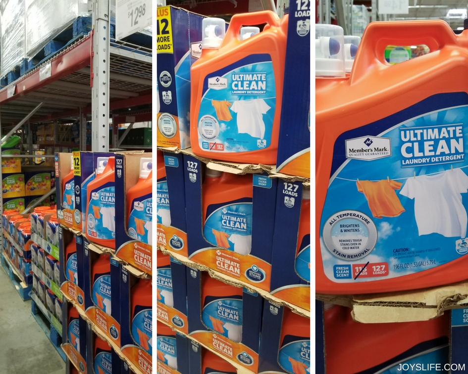 Member's Mark Ultimate Clean Liquid Laundry Detergent at Sam's Club