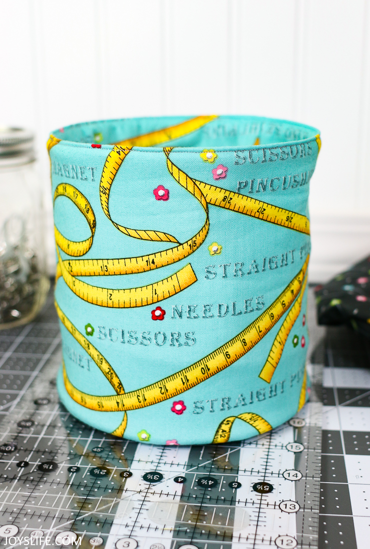 Sewing Fabric Fat Quarter Pop Up Fabric Bucket