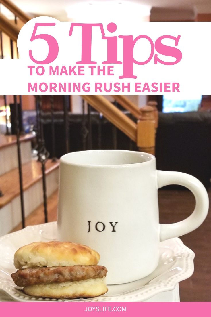 5 Tips to Make the Morning Rush Easier