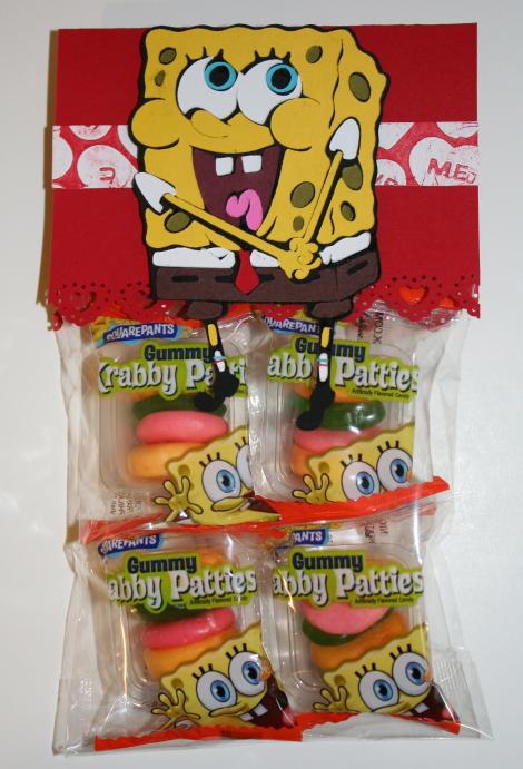 Spongebob Valentine's Day gift