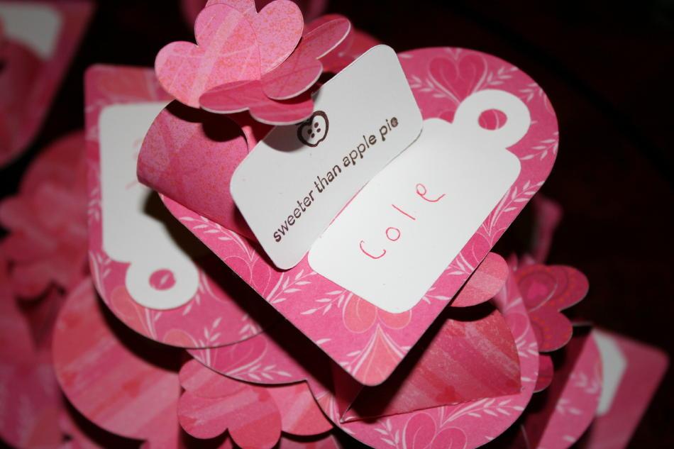 Petal Box Turned Valentine & Big Petal Boxes