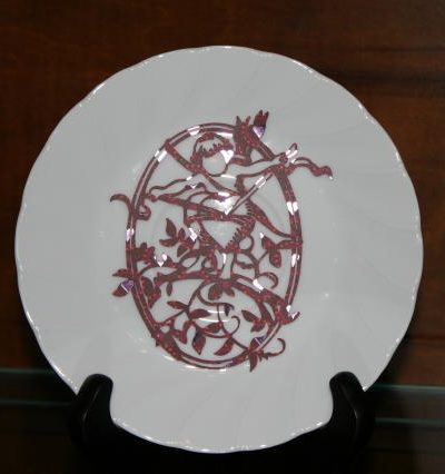 china cabinet plate