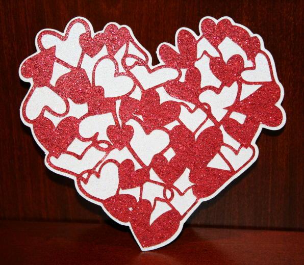 Love Struck Cartridge Glitter Heart