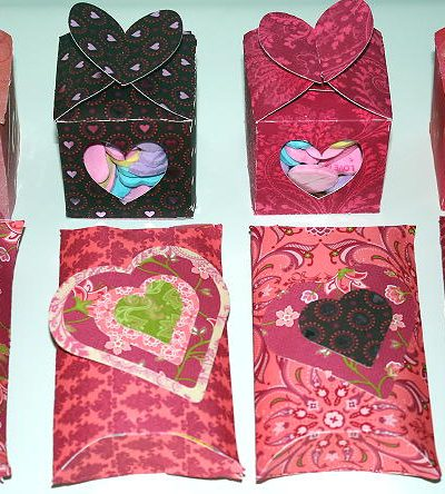 Pillow Boxes & Heart Boxes Using Cricut