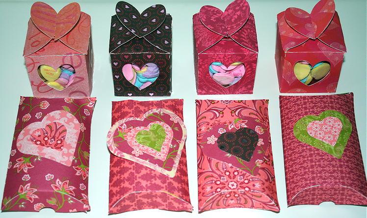 Pillow Boxes & Heart Boxes Using Cricut
