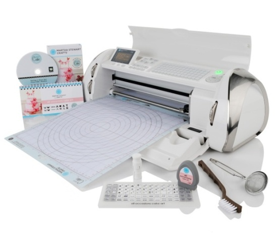 cricut cake machine martha stewart cricut cake crafts edition s 3190