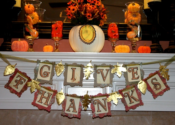 Cricut Thanksgiving Banner