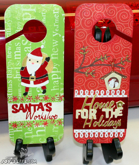 Cricut Holiday Door Hangers 12 Days of Christmas DAY NINE GIVE AWAY