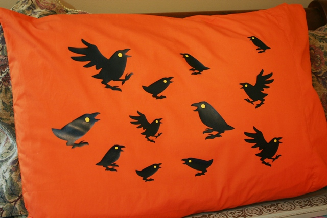 Heat Transfer T-Shirt Vinyl Cricut Halloween Pillowcases – Chic & Scary and Simply Scarecrow