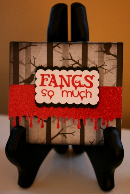 How to Make a Post It Note Holder – Vampire Gift