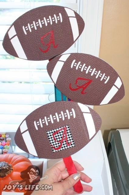 Alabama Crimson Tide Cricut Football Fan – Football Friday Post