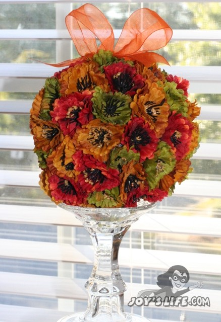 How to Make a Home Decor Flower Ball