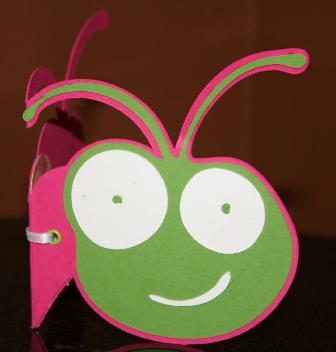 "A ""Cricutine"" Cricut Bug Head Valentine Using Make the Cut – Part 2"