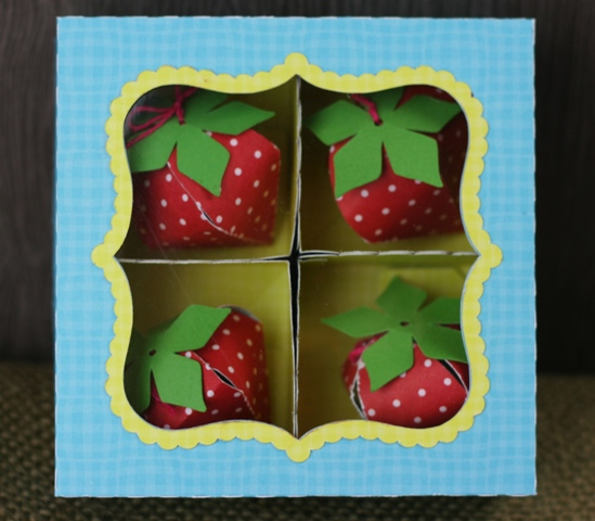 Silhouette Cameo 3D Strawberry Box – Lori Whitlock