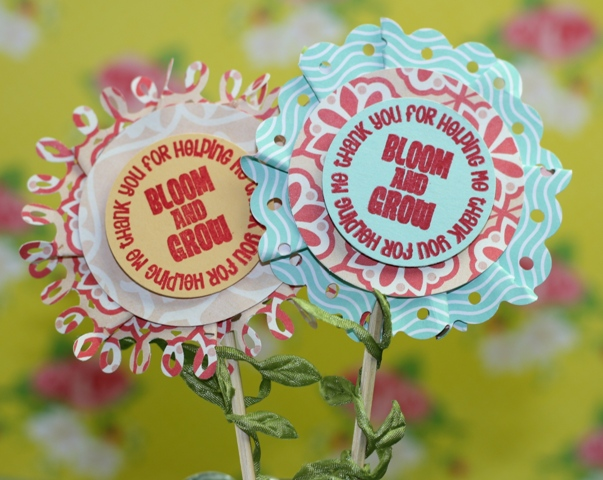 Make a Flower Embellishment from Scrap Paper