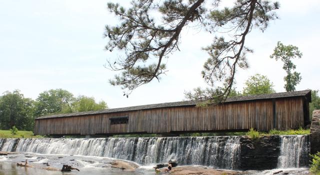 Over the River and Through the Bridge – Longest Covered Bridge in Georgia