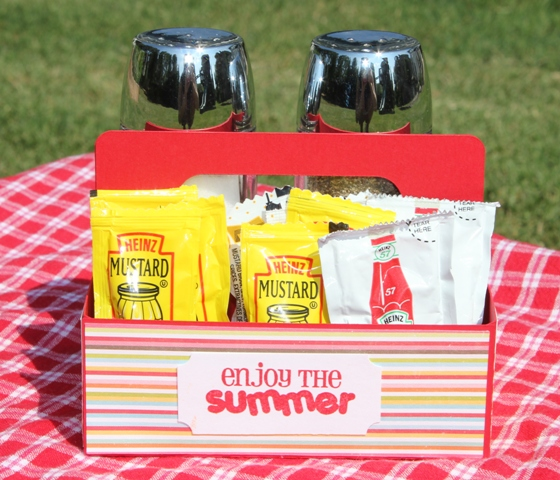 Picnic Condiment Caddy with Sizzix Eclips – Lori Whitlock Blog Hop