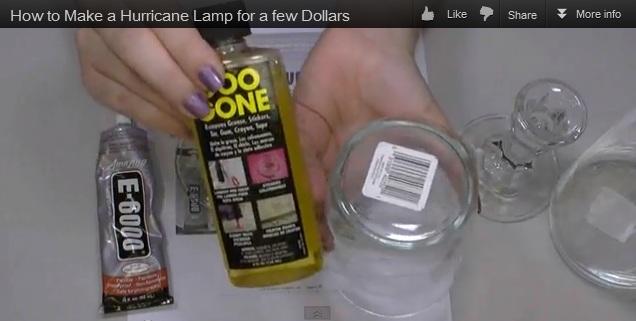 How to Make Hurricane Lamps + Fall Blog Hop & Give AWAY!!