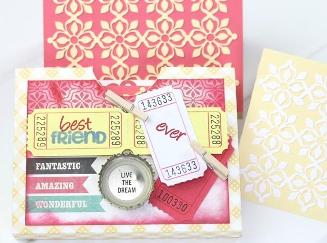 Best Friend Ever Stationary Set – Lori Whitlock Design Team Post