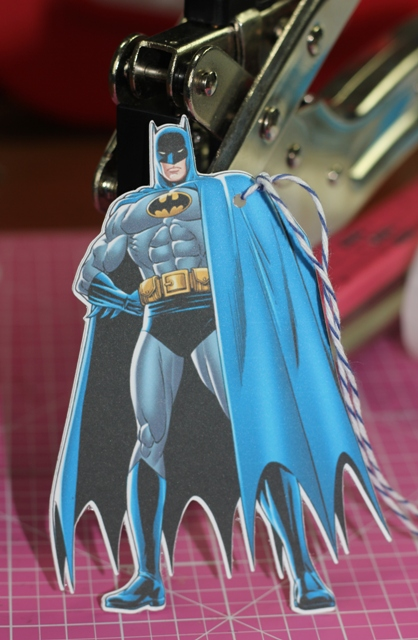 Silhouette Cameo Batman Gift Tags