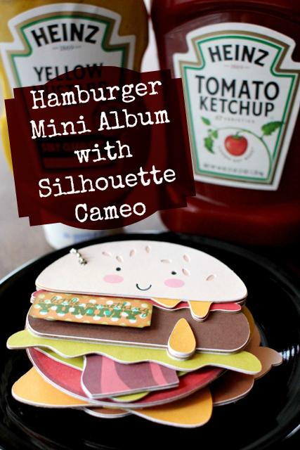 Hamburger Family Mini Album – Mini Book Blog Hop